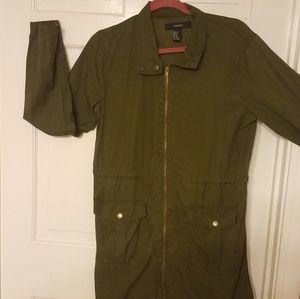 Forever 21 three quarter length light jacket